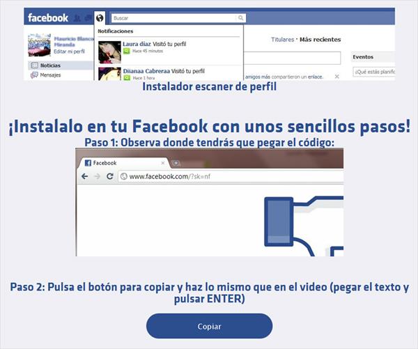 Descubre quién te visita en Facebook - descubriendo el timo.
